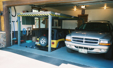 Residential Car Lift Garage Lift Systems